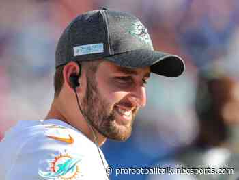 Report: Dolphins have received calls about Josh Rosen