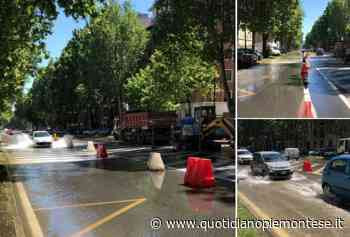 Allagamento in piazza Rivoli: mancata l'acqua in molte case di Parella e Pozzo Strada a Torino - Quotidiano Piemontese