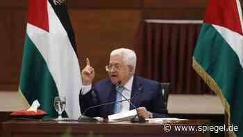 Israelische Annexionspläne für das Westjordanland: Palästinenserpräsident Abbas beendet alle Abkommen mit Israel und den USA - DER SPIEGEL