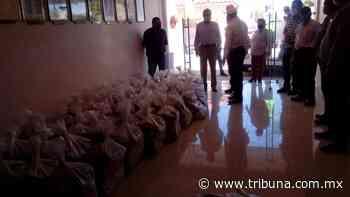 Productores agrícolas de Huatabampo salen en ayuda de la gente y donan 100 despensas - TRIBUNA
