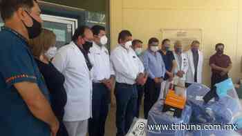 Hospital del Bajo Río Mayo de Huatabampo recibe donación de material médico - TRIBUNA