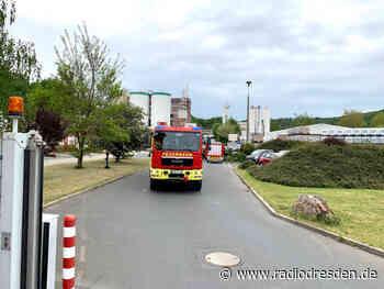 Feuerwehr im Einsatz in Dohna - Radio Dresden