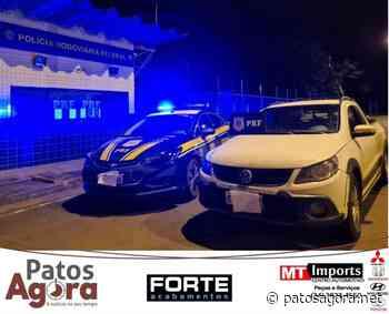 PRF apreende em Patos de Minas picape roubada em Catanduva (SP) - Patos Agora