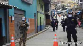 La Libertad: declaran inmovilización total en Quiruvilca - LaRepública.pe