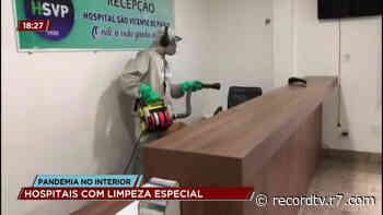 Bom Jesus do Itabapoana adota medidas de sanitização dos hospitais em meio à pandemia - R7