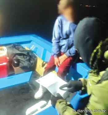 Embarcações são flagradas em Bombinhas - DIARINHO