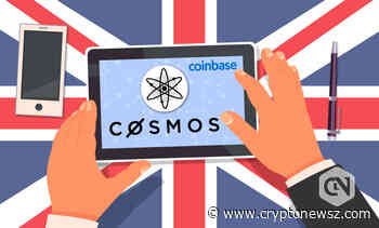 Coinbase UK Begins Supporting Cosmos (ATOM) - CryptoNewsZ