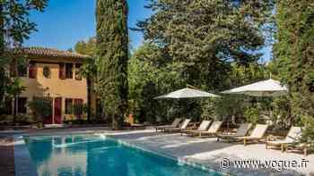 Une belle villa où poser ses valises à Aix-en-Provence cet été - Vogue Paris