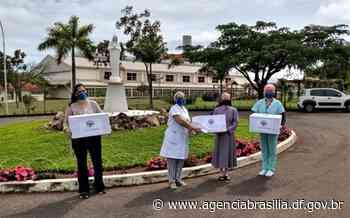 UBS 1 de Santa Maria recebe doação de duas mil máscaras - Agência Brasília