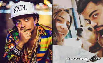 Bruno Mars' Fans Get Anxious As Virat Kohli & Anushka Sharma Mourn Their Dog Bruno's Death; Here's Why - Koimoi
