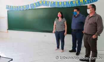 Com aulas presenciais suspensas, escolas municipais de Itupeva são revitalizadas - Tribuna de Jundiaí