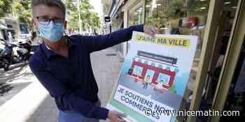 À Menton, le soutien aux commerçants s'affiche partout - Nice-Matin