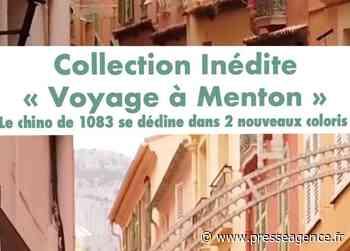 """MENTON : """"Voyage à Menton"""", la nouvelle collection inédite de 1083 - La lettre économique et politique de PACA - Presse Agence"""