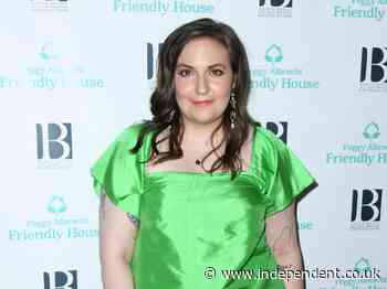 Lena Dunham accused of lying about eating a whole cheesecake the first time she did poppers - The Independent
