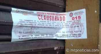 Guardia Nacional y Protección Civil clausuran establecimientos en Chignahuapan tras operativo - MTPNoticias