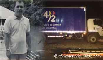Asesinan a conductor que transportaba encomiendas en la vía Pitalito – Mocoa - Conexión Putumayo