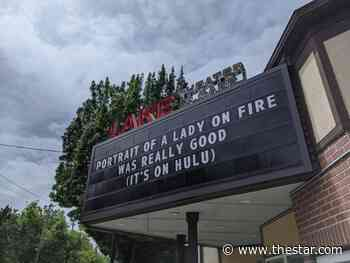 With movie theatres closed, marquees go viral