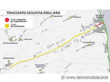 Presentata la Ciclovia dell'Aso: in bicicletta da Marina di Altidona e Pedaso fino a Rubbianello - Fermo Notizie