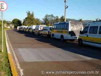 Profissionais do transporte escolar, de Sapiranga, reivindicam apoio financeiro da Prefeitura - Jornal Repercussão