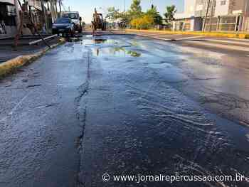 Corsan realiza consertos na rede de abastecimento de Sapiranga - Jornal Repercussão