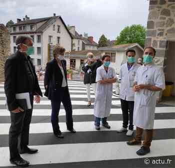 Aurillac. Malgré une reprise progressive de l'activité, l'hôpital reste mobilisé sur le Covid-19 - actu.fr