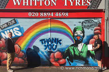 Council will not be removing NHS tribute mural in Whitton