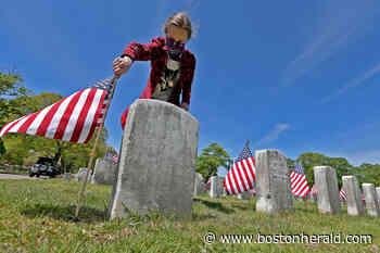 Gallery: Teens help prepare Mount Hope Cemetery for Memorial Day - Boston Herald