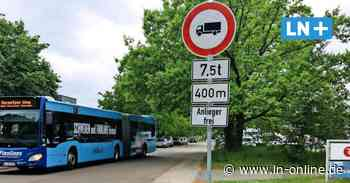 K-19-Sperrung: Heiweg-Abkürzung ist für Schwerlastverkehr vorerst tabu