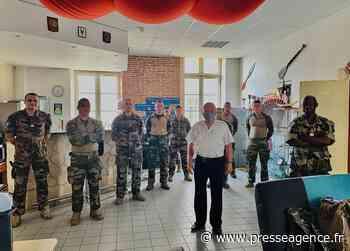 HYERES : Action de l'Amicale des anciens des 54/405° RA auprès du régiment - La lettre économique et politique de PACA - Presse Agence