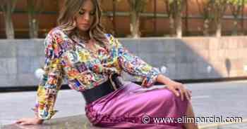 Galilea Montijo deja sus hombros al descubierto en atrevido vestido - ELIMPARCIAL.COM