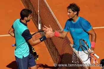 ThrowbackTimes Madrid: Rafael Nadal downs Grigor Dimitrov to stay in title chase - Tennis World USA