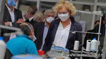 À Lesquin, la ministre du Travail en visite dans une PME d'insertion née du besoin de masques - La Voix du Nord