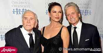 Michael Douglas and Catherine Zeta-Jones Say Late Kirk Douglas Crosses Their Minds Every Day - AmoMama