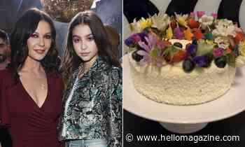 Catherine Zeta-Jones' daughter Carys' 17th birthday cake is SO spectacular - HELLO!