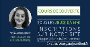 Cours découverte Ecole Adonis - Ecole Adonis, Strasbourg, 67000 - Sortir à Strasbourg - Le Parisien Etudiant