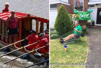 Richmond rowers swap Thames for terra firma to help NSPCC
