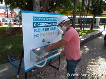 Sabesp instala bebedouro e lavatório próximo à bancos em Caraguatatuba - Jornal Costa Norte