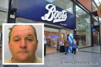 Burglar who stole perfume from Sussex Boots is jailed