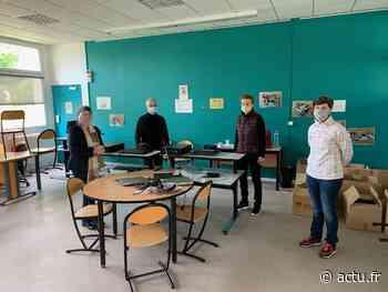 Région de Saint-Nazaire : 77 ordinateurs remis en état et donnés à des collégiens pendant le confinement - actu.fr