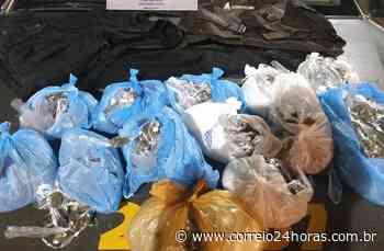 Traficante é detido em telhado de uma casa em Brotas com 1.300 porções de maconha - Jornal Correio