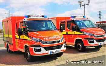 Zwei neue Fahrzeuge für die Feuerwehr Nidderau • Nidderau - Bruchköbeler Kurier