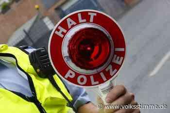 Berauschter Fahrer flieht vor der Polizei - Volksstimme