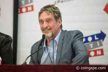 John McAfee Accused Of Plagiarism, PIVX Claims McAfee Copied A Section For Ghost Project - Coingape