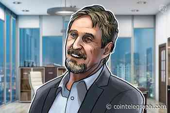 John McAfee Admits Ghost 'Copy-Pasted' From PIVX, Threatens Lawsuits - Cointelegraph
