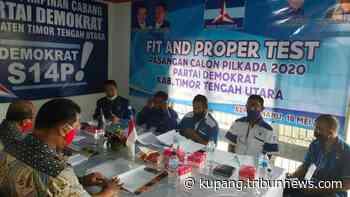 Pilkada TTU, Tiga Paket Jagoan Demokrat Ikut Fit and Proper Test, Salem: Hasilnya Tunggu Awal Juli - Pos-Kupang.com