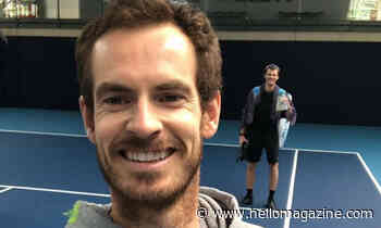 Andy Murray looks completely unrecognisable with blonde-tinted hair - HELLO!