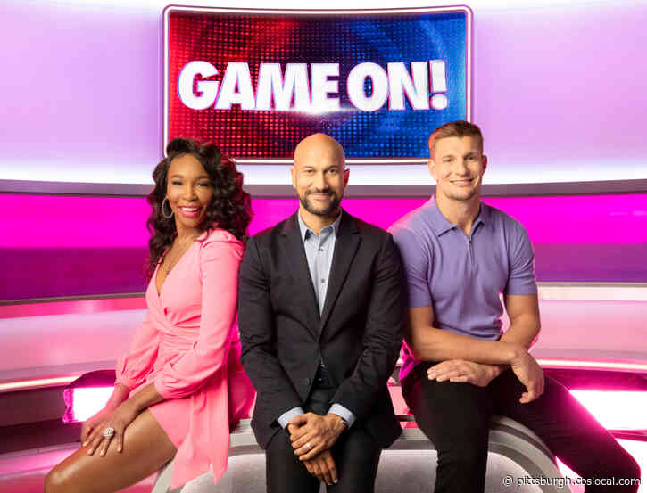 'It's Playful, It's Fun, It's Hilarious': Rob Gronkowski On New CBS Show 'GAME ON!' With Venus Williams And Keegan-Michael Key