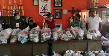 Entregan despensas a músicos en Fresnillo - Imagen de Zacatecas, el periódico de los zacatecanos
