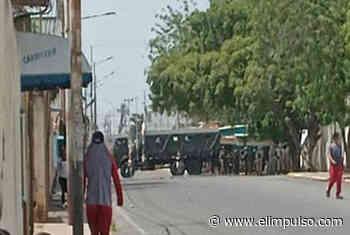 Presencia militar en Carora para contener protestas por apagones #20May - El Impulso