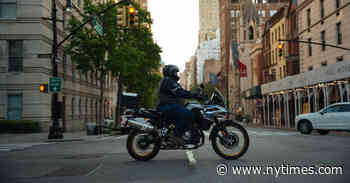 'Surreal': What It's Like to Ride a Motorcycle Through New York Right Now